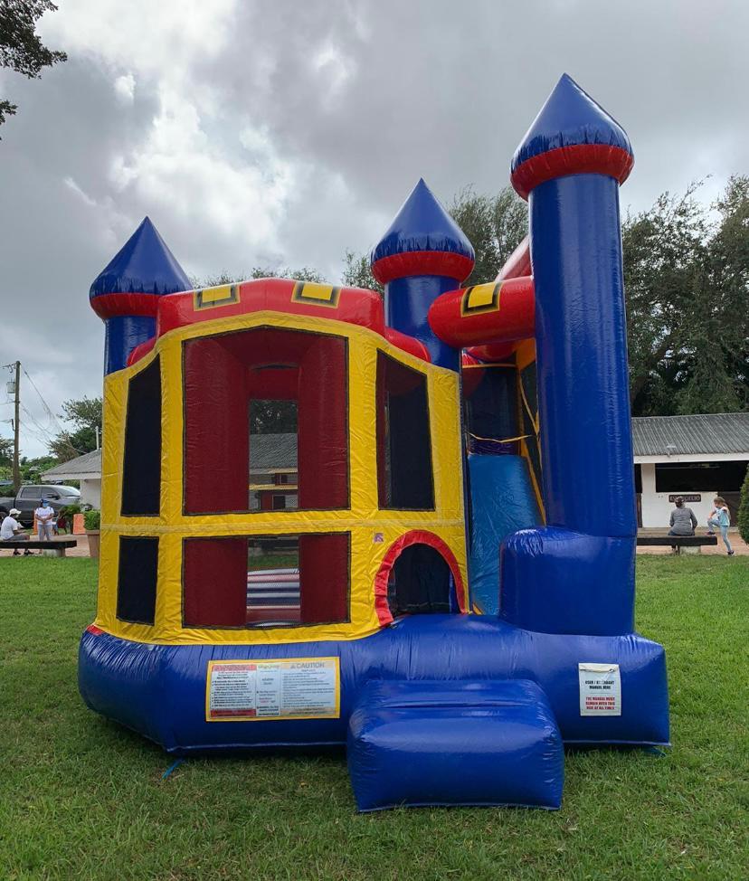 bounce house Weston